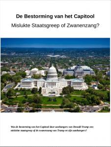 De Bestorming van het Capitool. Mislukte staatsgreep of zwanenzang? Analyse. Gratis download.